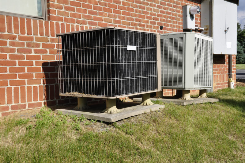 two hvac unit