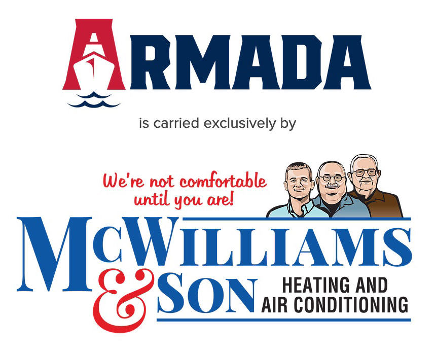 Armada collaboration with McWilliams logo